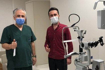Göz Kliniğimizin İlk Smile Lazer Hastası