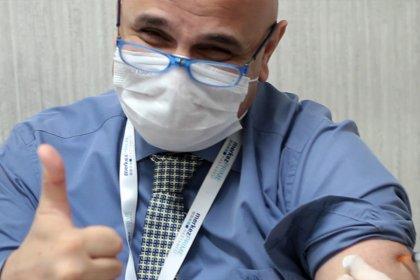 Sağlık Çalışanlarımız Koronavirüse Karşı Aşılanmaya Başladı