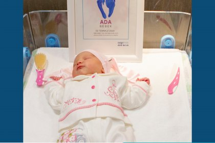 Merkez Prime Hastanesi'nin İlk Bebeği Dünyaya Geldi!