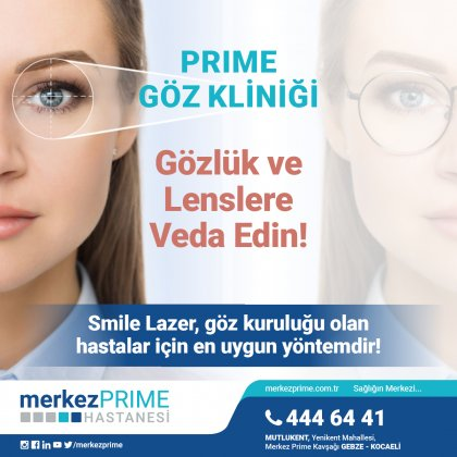 Gözlük ve Lenslere Veda