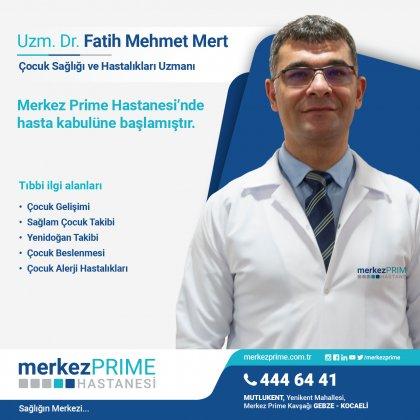 UZM. DR. FATİH MEHMET MERT