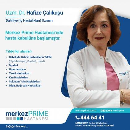 UZM. DR. HAFİZE ÇALIKUŞU