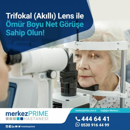 Trifokal Lens