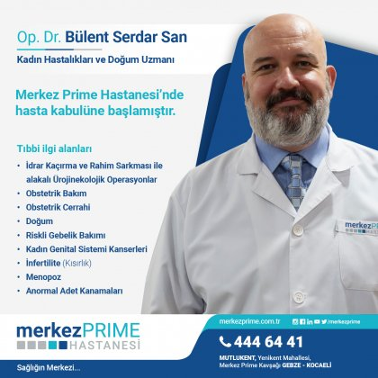 OP. DR. BÜLENT SERDAR SAN