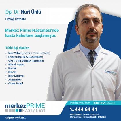 OP. DR. NURİ ÜNLÜ