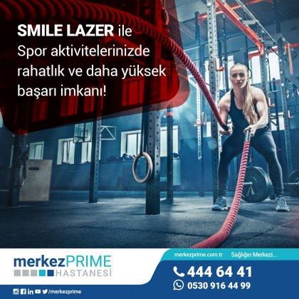Smile Lazer spor