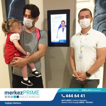Çocuk Ortopedi Kliniği İlk Hastası