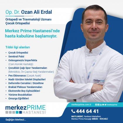 OP. DR. OZAN ALİ ERDAL