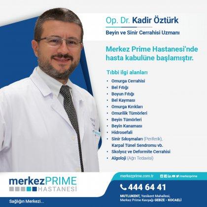 OP.DR.KADİR ÖZTÜRK