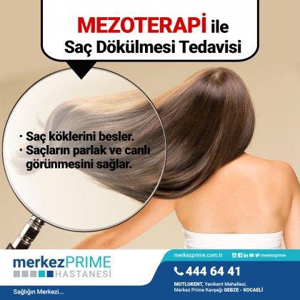 Mezoterapi ile Saç Dökülmesi